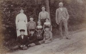 Karl Gustaf med familj
